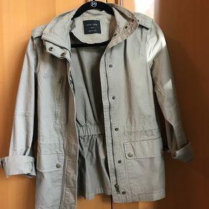 "Tan ""utility"" jacket"